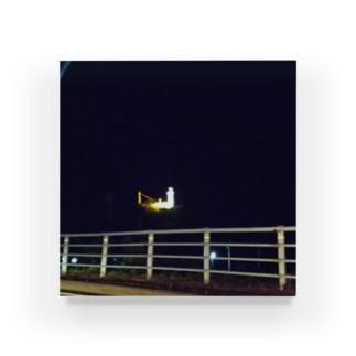 宵闇の灯台 Acrylic Block