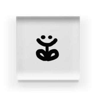SMILE FLOWER Acrylic Block