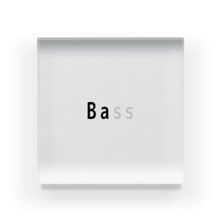 Bass Acrylic Block