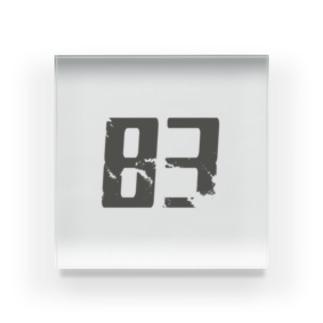 ももやみグッズ(83ver) Acrylic Block