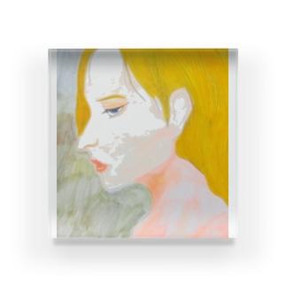 美人画 Acrylic Block
