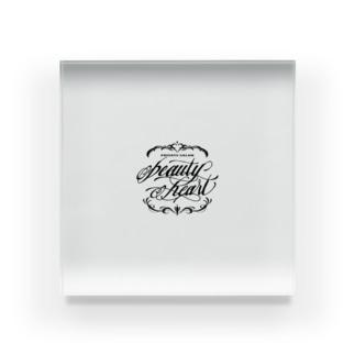 beauty-heart Acrylic Block