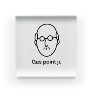 Gas point jr Acrylic Block