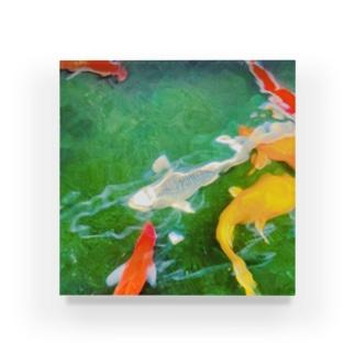 鯉 Acrylic Block