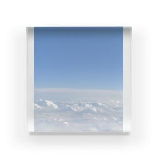 雲の上 Acrylic Block
