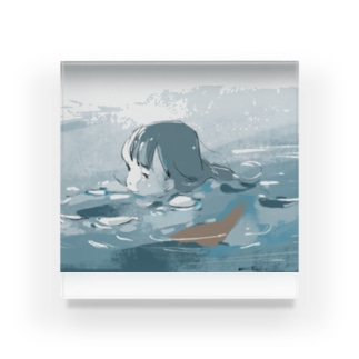 ザブザブ〜 Acrylic Block