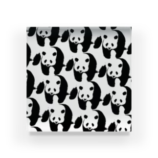 PANDA panda LIFE***のぞろぞろパンダ Acrylic Block