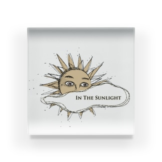 In The Sunlight Acrylic Block
