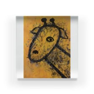 キリン Acrylic Block