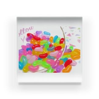 ゼリービーンズ Acrylic Block