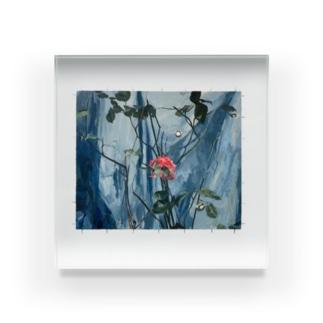トゲのある絵 Acrylic Block