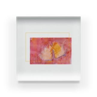 恋と布 Acrylic Block