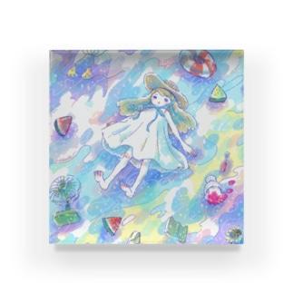 夏の走馬灯 Acrylic Block