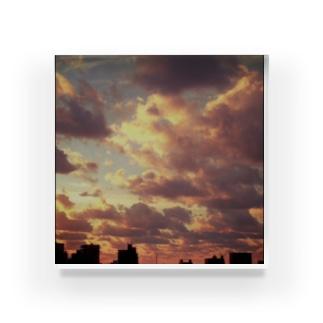 夕暮れ Acrylic Block