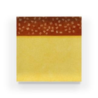 ザラメが決め手のカステラ Acrylic Block