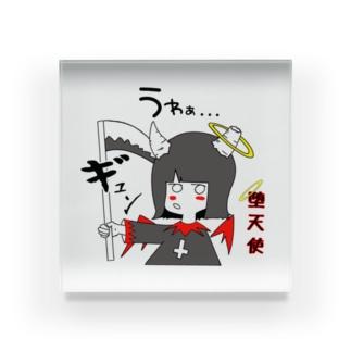 堕天使ちゃん😈👼🏻【リニューアル】 Acrylic Block