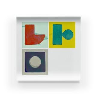 キャンディドロップレトロ Acrylic Block