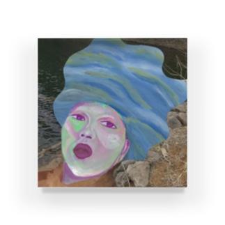 大丈夫丈夫(だいじょうぶ たけお)の水のモノマネ Acrylic Block