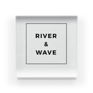 River&Wave Acrylic Block