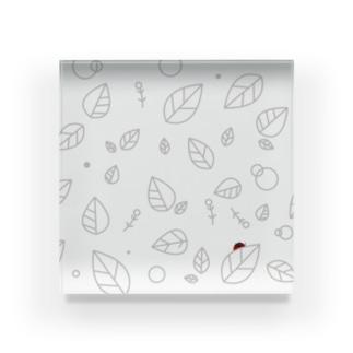 木の葉サンバ Acrylic Block
