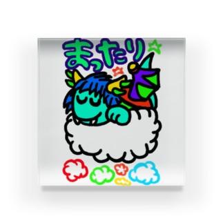 dorihopuのまったり青龍 Acrylic Block