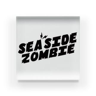 SEA SIDE ZOMBIE Acrylic Block