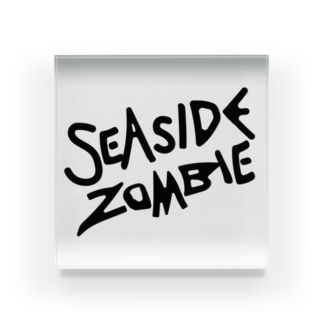SEA SIDE ZOMBIE Acrylic Block