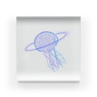 jellyfish Acrylic Block