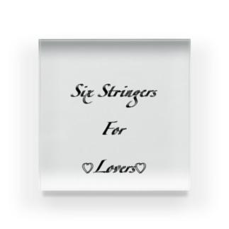 Six Stringers 4 ♡Lovers♡ Acrylic Block
