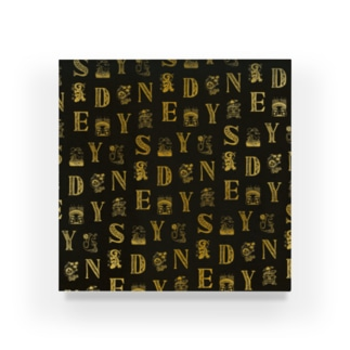 Cities in the World - Sydney (Vintage Gold)  Acrylic Block