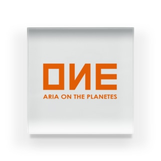 OИE - ARIA ON THE PLANETES - (Ocean Network Express風) Acrylic Block