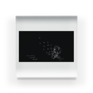 STAR black Acrylic Block