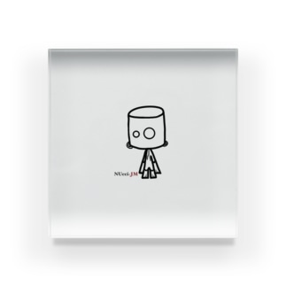NUcci-JM(ヌッチージャンモ) Acrylic Block