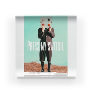 【PRESS MY SWICH】 Acrylic Block