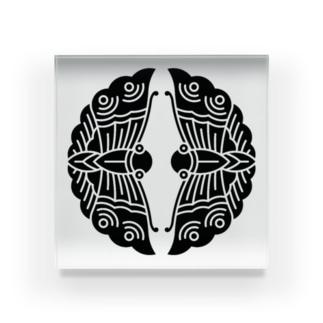 大谷刑部吉継(対い蝶) Acrylic Block