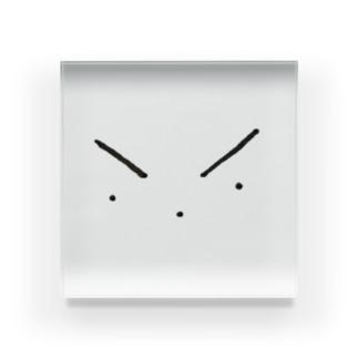 目、鼻、口。 Acrylic Block