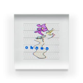 Ohana🌼 Acrylic Block