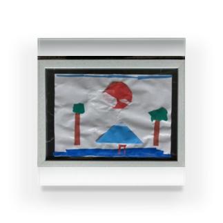 額縁のJapanesque Acrylic Block