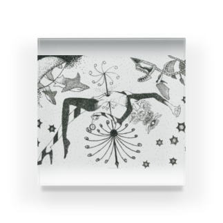 救済 Acrylic Block
