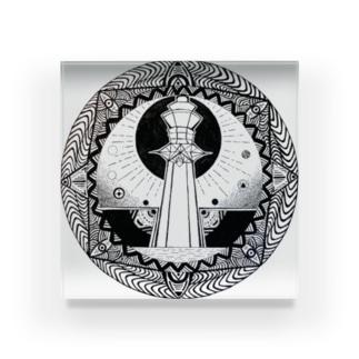 アノ塔 Acrylic Block