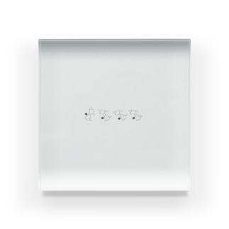 nananの軌跡 Acrylic Block