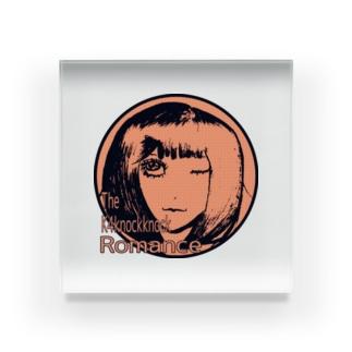 よーこさん(オレンジ) Acrylic Block