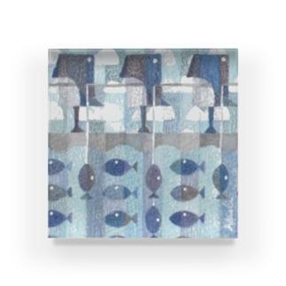 ペンギンのうみ Acrylic Block