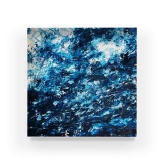 涼しげな青 Acrylic Block