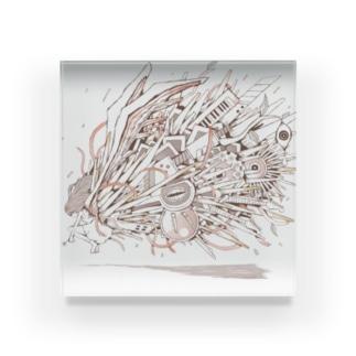 Uteruchesis Acrylic Block