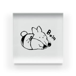 Boinうさぱい Acrylic Block