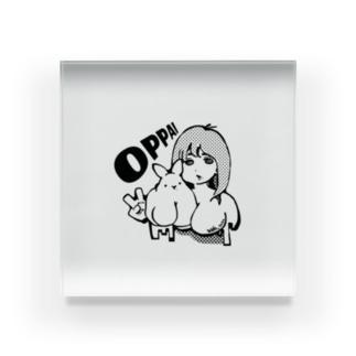 うさぱい&わこぱい Acrylic Block