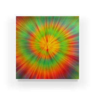 サイケデリック Acrylic Block