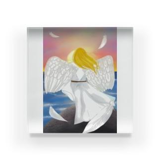 落陽天使 Acrylic Block