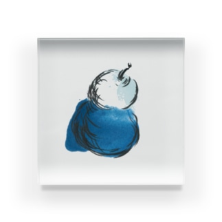 La France Acrylic Block